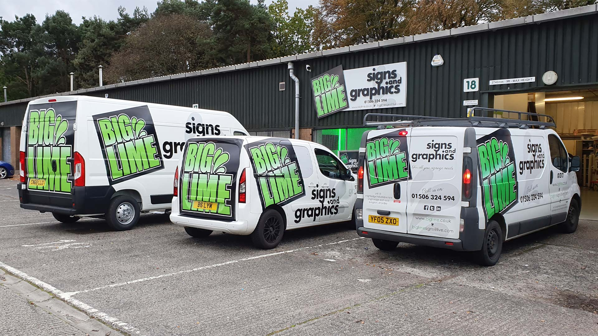 Big Lime Signs & Graphics